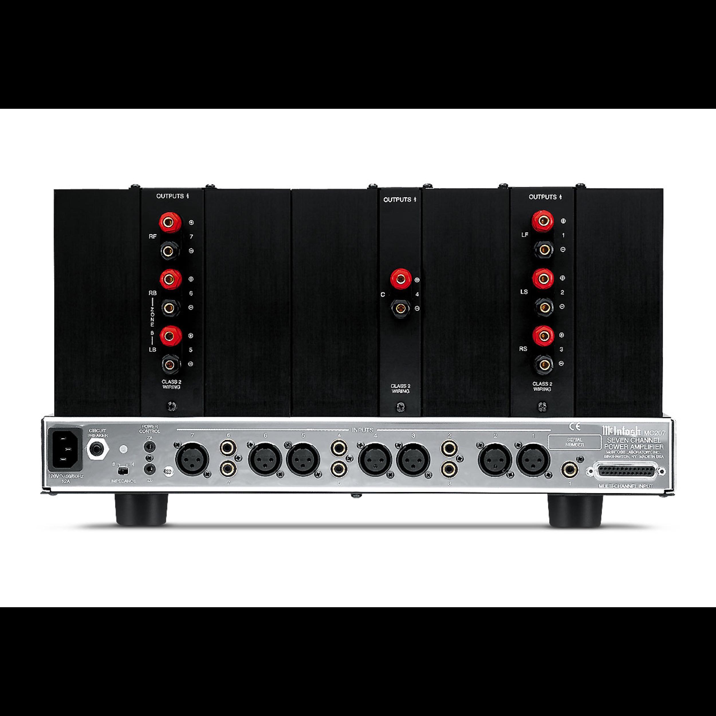 Mcintosh Mc207 Wide Screen Audio Class 2 Wiring Brands Amplifiers