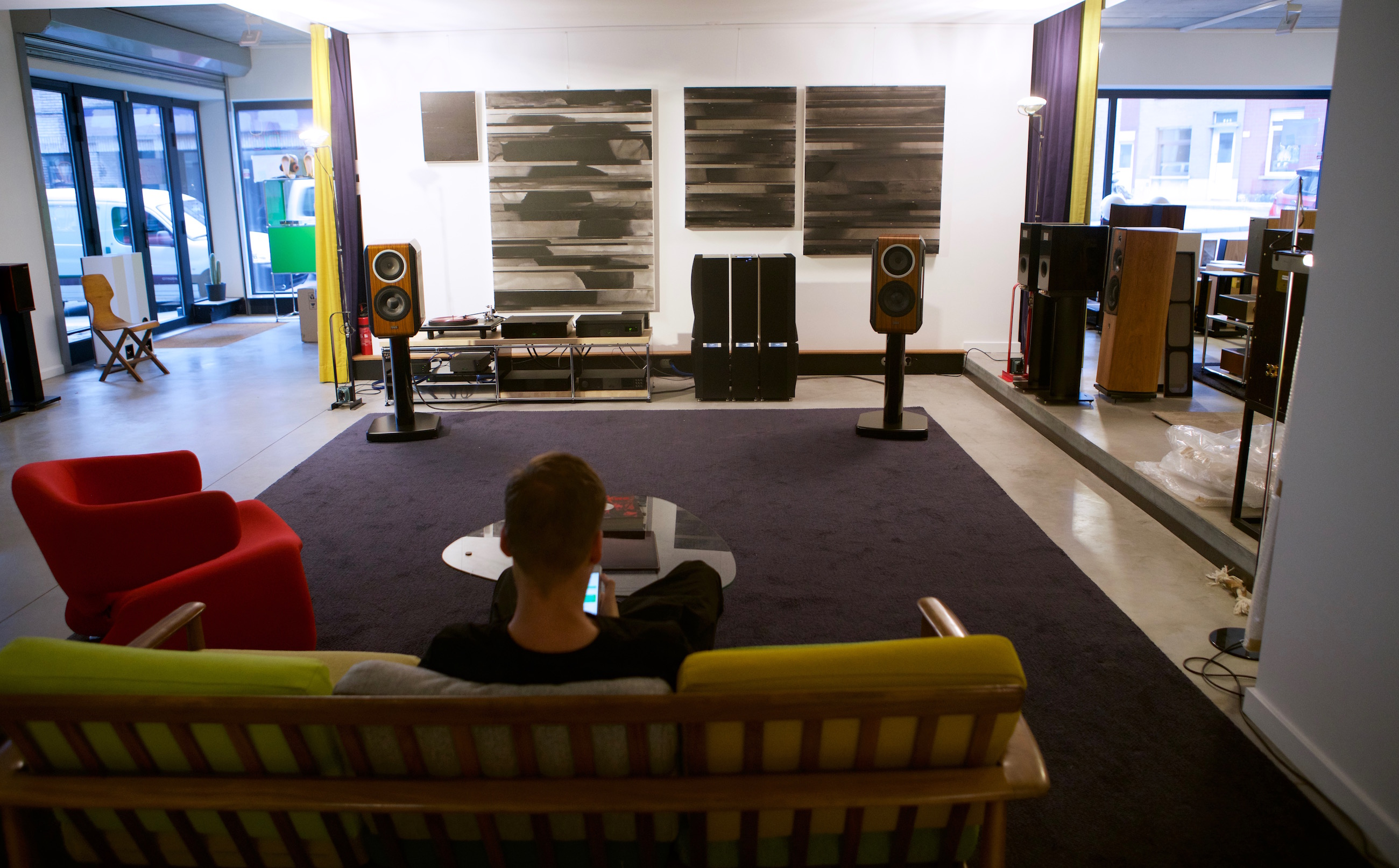 Naim STATEMENT SESSIONS - 8-9 OCT 2016 at Wide Screen Audio