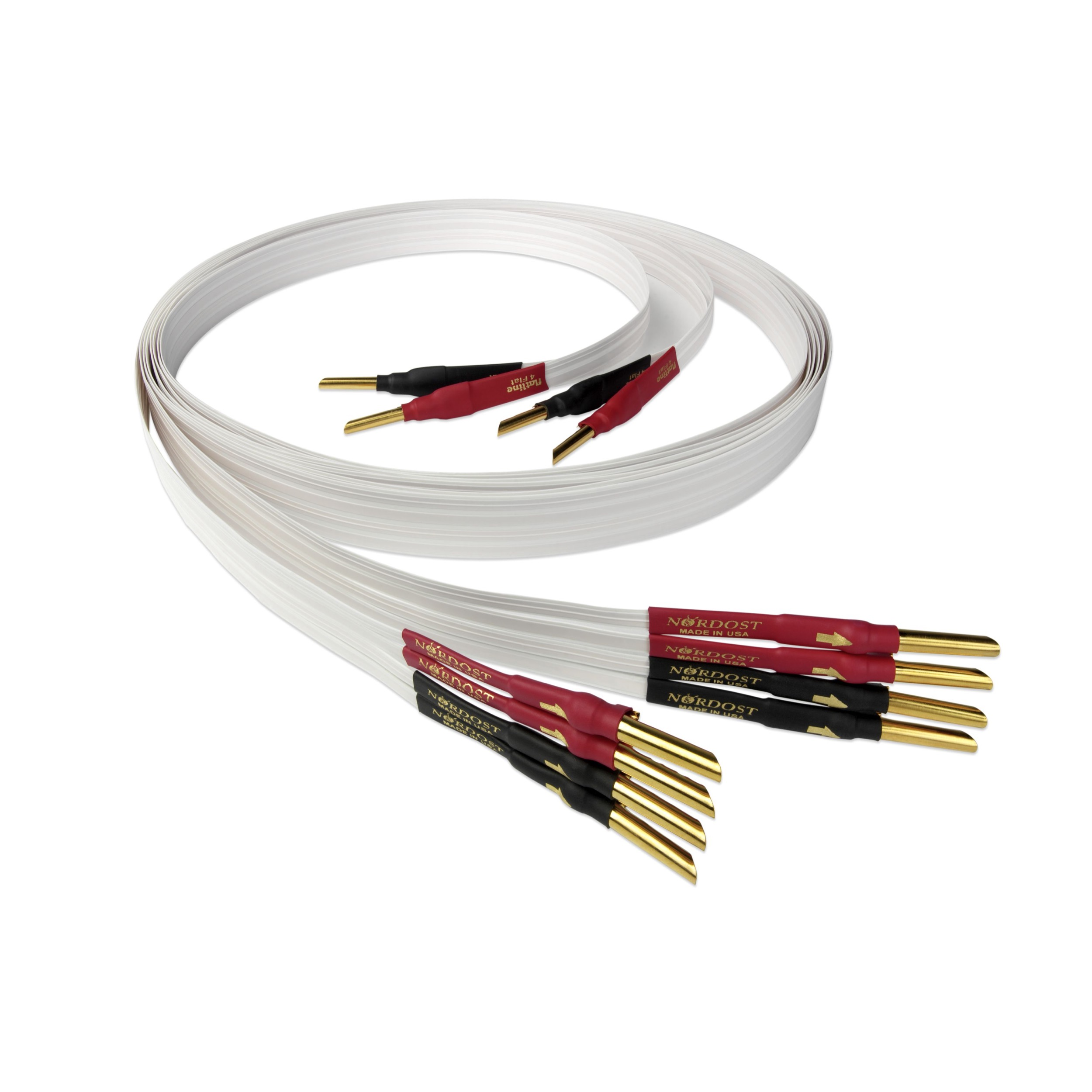 Nordost 4 Flat Speaker Cable (Single-wire) - Wide Screen Audio