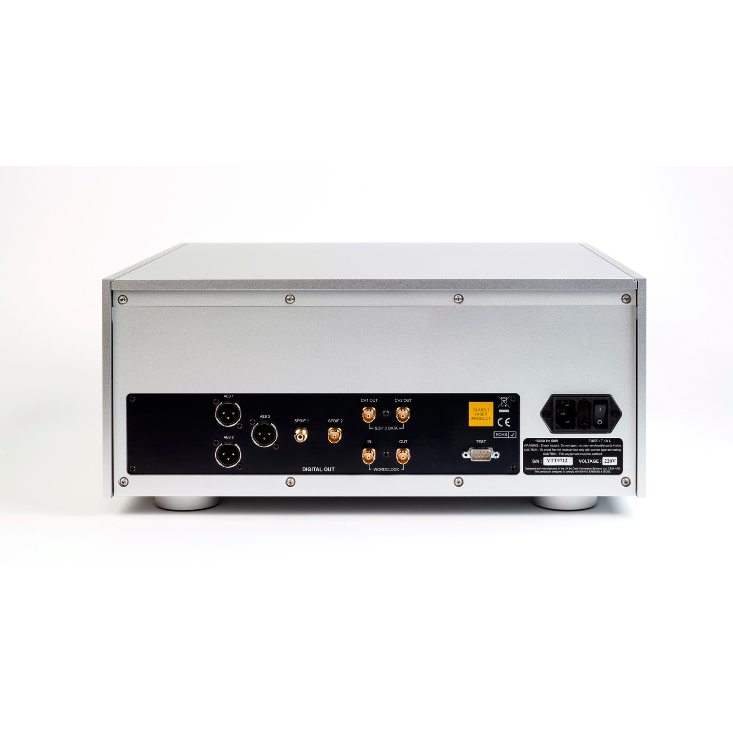 dCS Vivaldi CD\/SACD Transport \u2013 Wide Screen Audio
